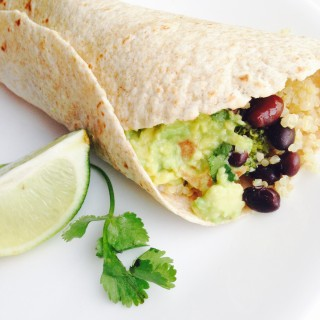 Black Bean Broccoli Burrito
