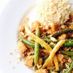 Spicy Chicken and Green Bean Stir Fry