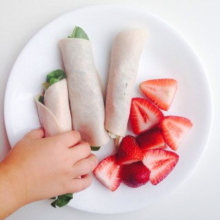Kid Approved Summertime Lunch: Turkey Roll ups