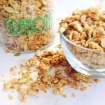 Dairy and Refined Sugar Free Homemade Granola